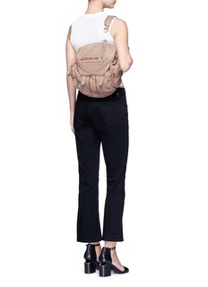 Alexander Wang  'Mini Marti' washed  leather three-way backpack