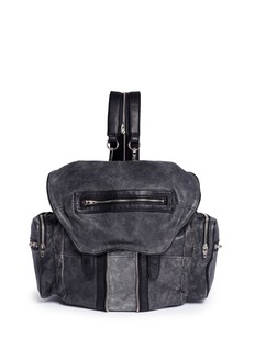Alexander Wang 'Marti' crackled lambskin leather three-way backpack