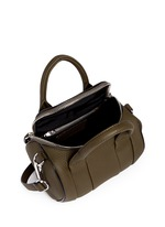 'Mini Rockie' pebbled leather duffle bag