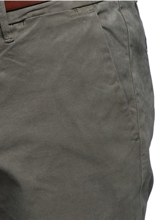 Detail View - Click To Enlarge - Scotch & Soda - 'Stuart' garment dyed slim fit chinos