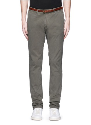 Main View - Click To Enlarge - Scotch & Soda - 'Stuart' garment dyed slim fit chinos