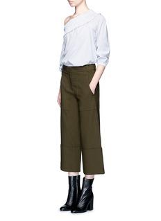Tibi'Anson' wide leg cargo pants