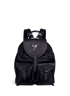 Giuseppe Zanotti Design 'Regiment' leather backpack