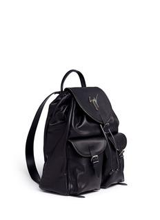 Giuseppe Zanotti Design'Regiment' leather backpack