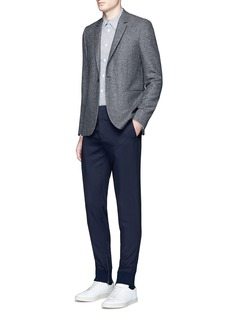 PS by Paul Smith Slim fit wool birdseye blazer