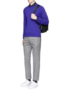PS by Paul Smith Raglan sleeve Merino wool sweater