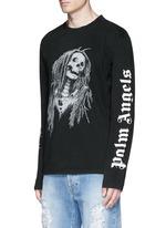 'Metal Skull' Bob Marley print T-shirt