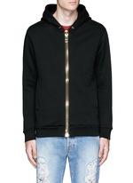 'Maxi' chunky zip hoodie