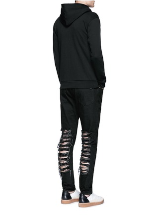 Figure View - Click To Enlarge - Palm Angels - Regular fit ladder ripped jeans