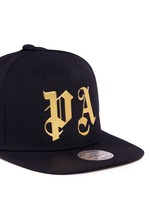 x Mitchell & Ness glossy logo print baseball cap