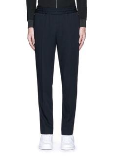 Palm Angels'Comfy' side stripe wool jogging pants