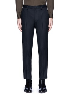 WooyoungmiPiped waist wool pants