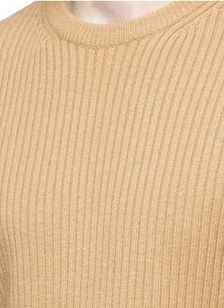 Detail View - Click To Enlarge - Wooyoungmi - Zip cuff side split sweater