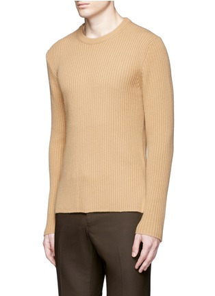 Front View - Click To Enlarge - Wooyoungmi - Zip cuff side split sweater