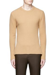WooyoungmiZip cuff side split sweater