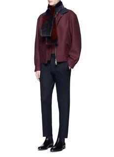 WooyoungmiStretch wool fleece pants