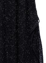 'Rhi' beaded sheer strappy dress