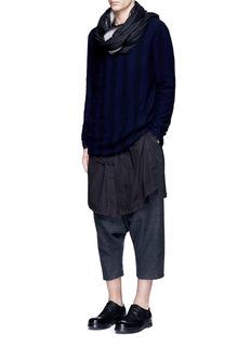 Ziggy ChenStripe baby cashmere sweater