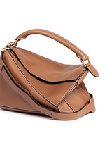 ''Puzzle' calf leather bag