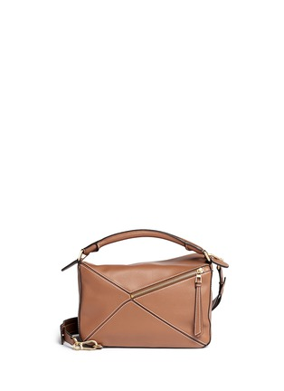 Back View - Click To Enlarge - Loewe - ''Puzzle' calf leather bag