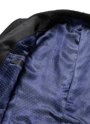 Haider Ackermann-Cropped linen blazer