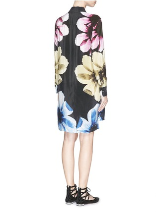 Back View - Click To Enlarge - Equipment - 'Kerry Dress' floral print silk dress