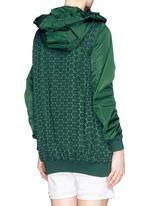 'Foucher' San Gallo lace body nylon coat