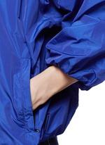 泡泡袖运动外套