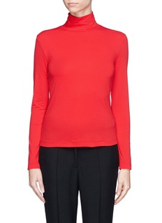 ST. JOHN Turtleneck jersey top