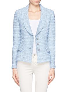 ST. JOHNShawl collar wool blend jacket