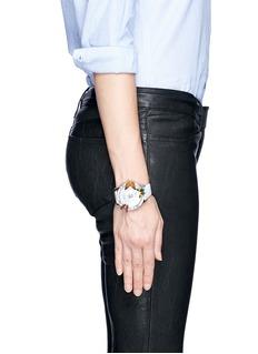 GALTISCOPIO'Mes Elegant' butterfly crystal watch