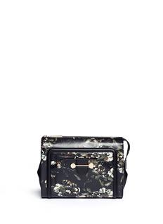JASON WU'Daphne' floral print leather clutch