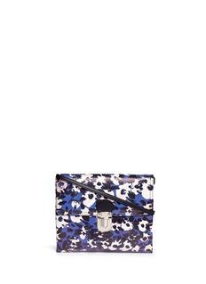 MARNIFloral print crossbody bag