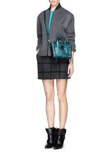 3.1 PHILLIP LIM'Pashli' mini metallic leather satchel