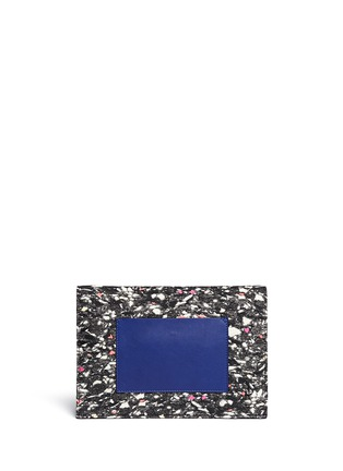 Back View - Click To Enlarge - Proenza Schouler - Slate print small lunch bag
