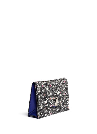 Front View - Click To Enlarge - Proenza Schouler - Slate print small lunch bag