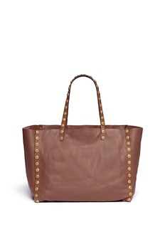 VALENTINO ''Gryphon' stud leather tote