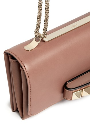 Detail View - Click To Enlarge - Valentino - 'Rockstud Va Va Voom' leather shoulder bag
