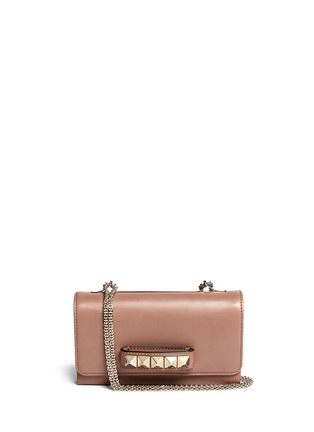 Main View - Click To Enlarge - Valentino - 'Rockstud Va Va Voom' leather shoulder bag