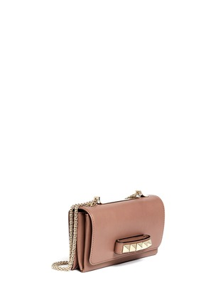 Figure View - Click To Enlarge - Valentino - 'Rockstud Va Va Voom' leather shoulder bag