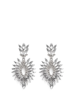 Main View - Click To Enlarge - Kenneth Jay Lane - Crystal drop earrings