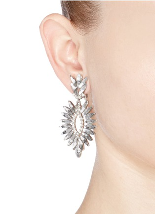 Figure View - Click To Enlarge - Kenneth Jay Lane - Crystal drop earrings