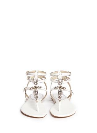 Figure View - Click To Enlarge - Michael Kors - Jayden' lizard embossed leather sandals