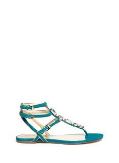 MICHAEL MICHAEL KORSJayden jewelled suede sandals