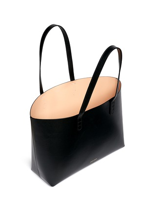 Detail View - Click To Enlarge - Mansur Gavriel - Small contrast lining leather tote