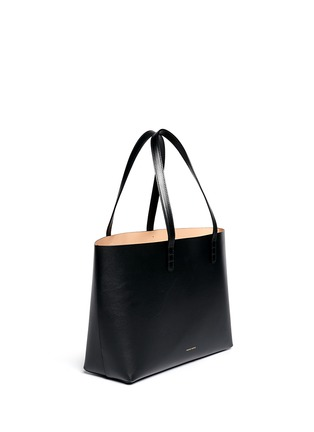 Front View - Click To Enlarge - Mansur Gavriel - Small contrast lining leather tote