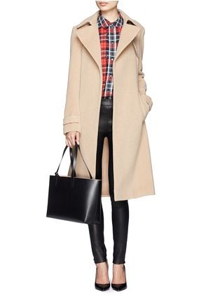 Figure View - Click To Enlarge - Mansur Gavriel - Small contrast lining leather tote
