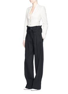 Stella McCartney'Abigail' corset waist tailored jacket