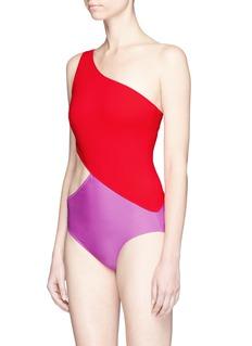 Araks'Elmar' colourblock cutout one-piece swimsuit