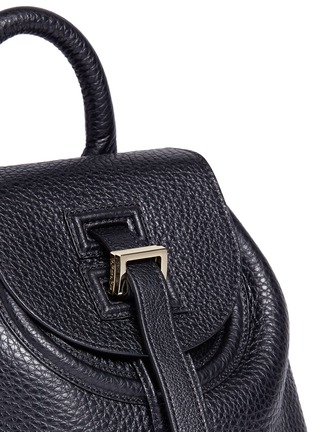 Meli Melo - Mini pebbled leather backpack